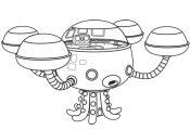 Octonauts: Octopod Coloring Page