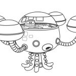 Octonauts: Octopod Coloring Page   #cartoon #coloring #pages