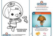 Octonauts coloring sheets. not really educational except for practicing motor sk...