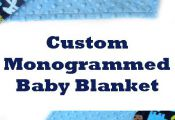 Order a special baby gift, customize with a name. Lots of colors available. Baby...