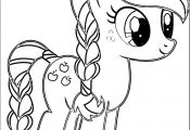 Pony Cartoon My Little Pony Coloring Page 003
