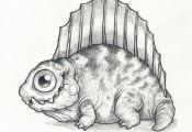 Prehistoric Reptile Thursday: Dimetrodon! Commonly mistaken for a Dinosaur, they...