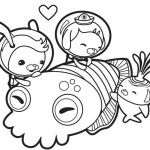 Print Octonauts Coloring Pages   #cartoon #coloring #pages