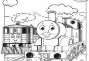 Print out pictures of Toby the tram engine Thomas the train and friends coloring...