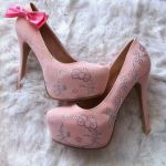 Pumps de Hello Kitty rosados!