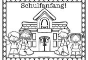 Spanish, French & German Back to School Coloring Pages FREEBIE!