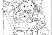 Strawberry Shortcake Cartoon Coloring Pages | Return to Strawberry Shortcake Col...