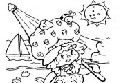 Strawberry+Shortcake+Coloring+Book+Pages | Strawberry Shortcake color page carto...