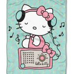 Take a look at this Rocking Hello Kitty Throw today!