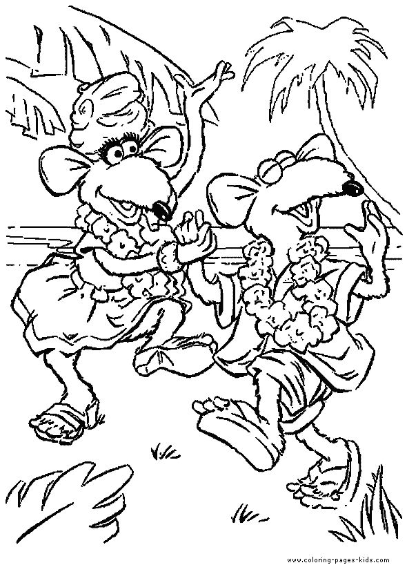 The Muppet Show color page – Coloring pages for kids – Cartoon … Wallpaper