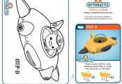 The Octonauts Coloring Pages and Crafts | Disney Junior