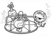 The-Octonauts-Playing-Together-Coloring-Page.jpg (600×430)   #cartoon #coloring...