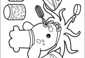 The Octonauts coloring picture