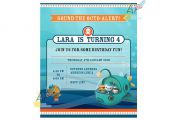 These are DIGITAL files for a personalized Octonauts Coloring Book for PERSONAL ...