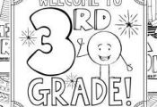 This 3rd Grade Back to School Coloring Book is designed to welcome your new stud...