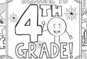 This 4th Grade Back to School Coloring Book is designed to welcome your new stud...