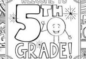 This 5th Grade Back to School Coloring Book is designed to welcome your new stud...