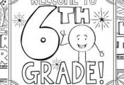 This 6th Grade Back to School Coloring Book is designed to welcome your new stud...
