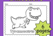 This friendly and cute coloring book has six pages featuring every kid's fav...