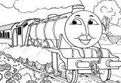 Thomas The Tank Engine Coloring Pages Gordon · Thomas The Train ...