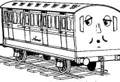 Thomas-The-Train Coloring Page - Print Thomas-The-Train pictures to color at All...