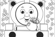 Thomas The Train Coloring Pages Coloring Pages Trains Free Thomas ...