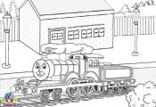 Thomas The Train Printable Coloring Pages - Coloring For ...