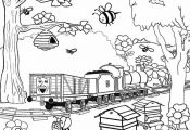 Thomas the train halloween worksheets for kids | Thomas the train coloring pages...