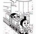 Thomas the train printable coloring pages