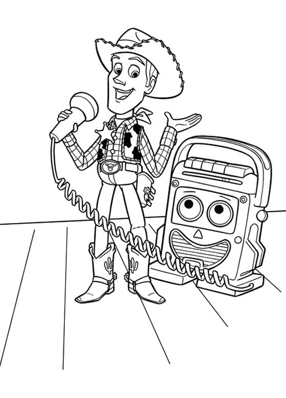Toy-Story-Coloring-Book-Toy-Story-cartoon-coloring-pages Toy Story Coloring Book - Toy Story cartoon coloring pages Cartoon
