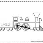 Train Coloring Page for boys : Printables for Kids – free word search puzzles,...