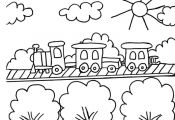 Train Coloring Pages 180 | Free Printable Coloring Pages