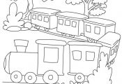 Train coloring page 2 | Download Free Train coloring page 2 for kids | Best Colo...