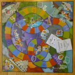 Turned a Cranium board from the thrift store into an Octonauts game with some pa...