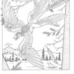 Welcome to Dover Publications Flying Dinosaurs Coloring Book