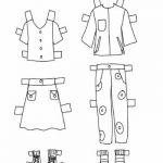 Worksheets: Paper Dolls: Back to School