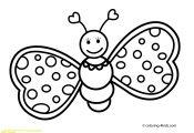 A butterfly Coloring Page A butterfly Coloring Page