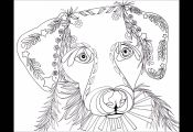 Adult Coloring Pages Puppies Adult Coloring Pages Puppies