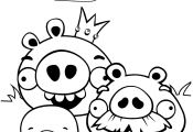 Angry Birds Bad Piggies Coloring Pages Angry Birds Bad Piggies Coloring Pages