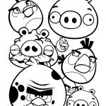 Angry Birds Coloring Page Angry Birds Coloring Page
