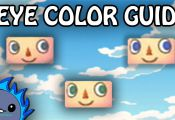 Animal Crossing New Leaf Eye Color Guide Animal Crossing New Leaf Eye Color Guide