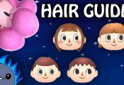 Animal Crossing New Leaf Hair Guide Colors Animal Crossing New Leaf Hair Guide Colors