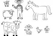 Animal Farm Coloring Pages Animal Farm Coloring Pages