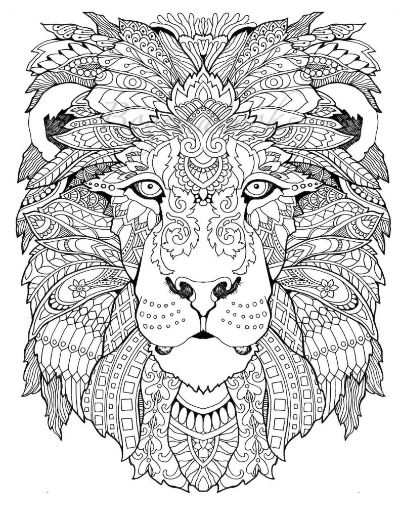 Animal Mandala Coloring Book Animal Mandala Coloring Book