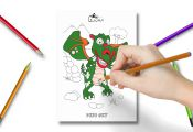 Augmented Reality - Dinosaurs Coloring Books Augmented Reality - Dinosaurs Coloring Books