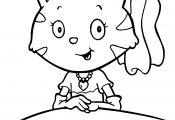 Baby Cat Coloring Pages Baby Cat Coloring Pages