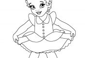 Baby Disney Princess Coloring Page Baby Disney Princess Coloring Page