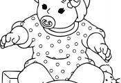 Baby Doll Coloring Page Baby Doll Coloring Page