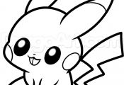 Baby Pikachu Coloring Page Baby Pikachu Coloring Page