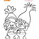 Baby Trolls Coloring Pages Baby Trolls Coloring Pages
